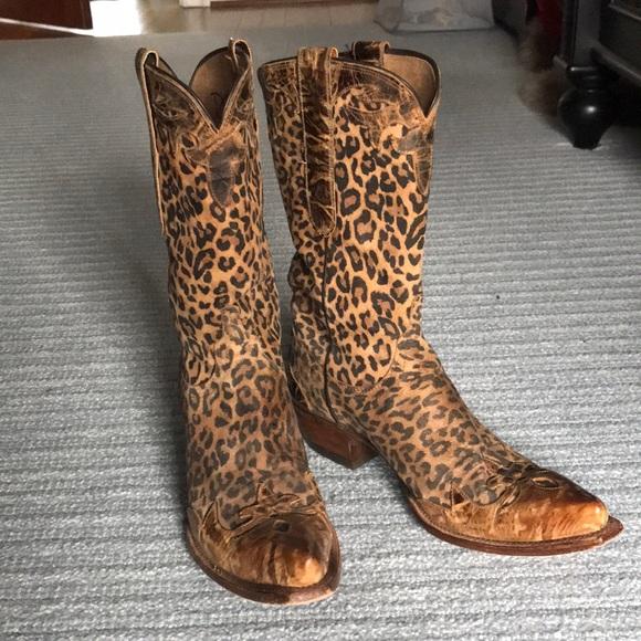 leopard print cowgirl boots \u003e Clearance